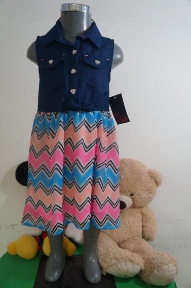 Vestido Para Niña Marca Girls Rule Gr61012 Importado Usa