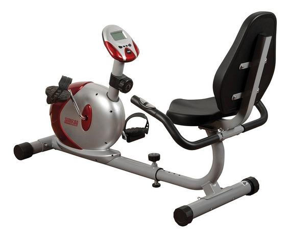 Bicicleta Fija Magnética Recumbent Semikon Te871hp Recostada