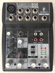 Mesa De Som Behringer 5 Canais Xenyx 502 Mixer