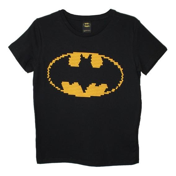 Playera Batman Escudo Dc Cómics Original