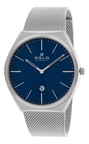 Relógio Oslo Masculino Sapphire Ombss9u0005 D1sx Slim Analógico
