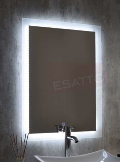 Esatto® Espejo Led Touch 80 X 60 Cms Para Baño El8060a