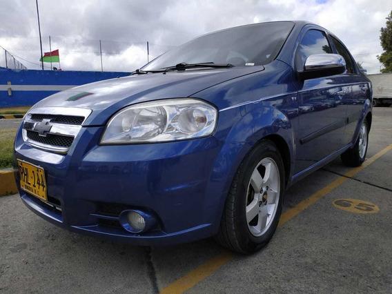 Chevrolet Aveo Emotion 1600 Cc 4 Puertas Economico