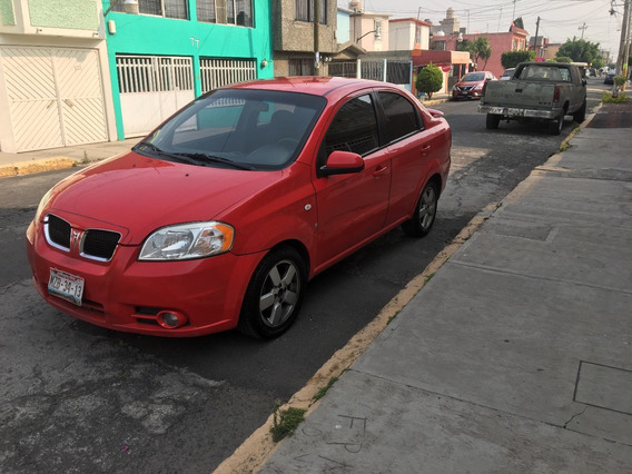 Pontiac G3 Aveo 2008 Rojo