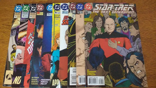 Hq,star Trek:the Next Generation E Star Trek-dc -3 Por R$30
