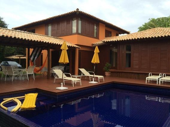 Casa Em Condomínio A Venda Com 4 Quartos Suítes 288m2 Em Sauipe - Dia055 - 32327639