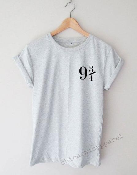 Camiseta Harry Potter Masculina 93/4 Masculina