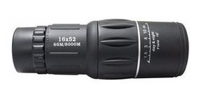 Monóculo Luneta 16x52 66mm 800mm Com Capa Proteção Promoção
