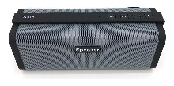Caixa De Som Bluetooth Speaker Super Bass Tf / Fm S311