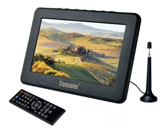 Tv Portátil Led Monitor Tv Digital 9 Pol Micro Sd