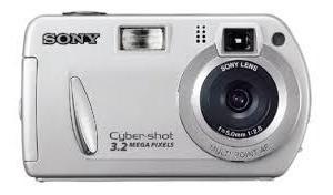 Camera Sony Cyber-shot 3.2 Megapixels Cod. Cam2613