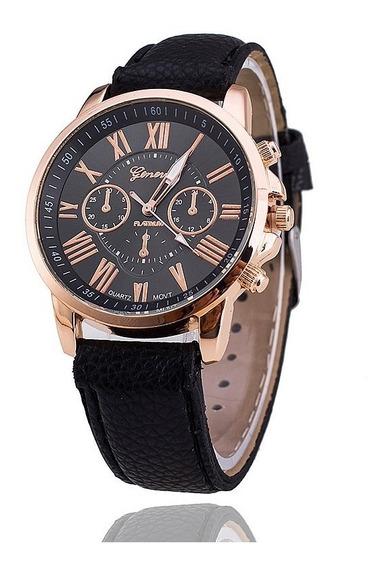 Relógios Femininos Geneva Preto - Promoção