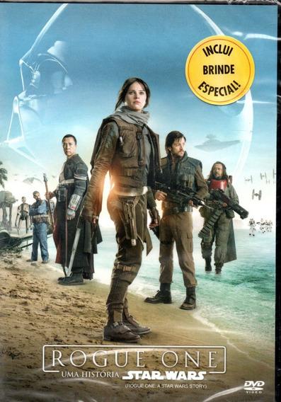 Dvd Filme Rogue One Uma História Star Wars - Dublado
