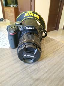 Camera Nikon D3400 + Lente 18-55mm Vr + Acessorios