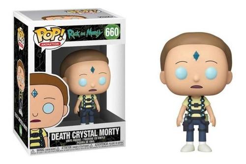 Death Crystal Morty - Funko Pop Nuevo Caja Dañada