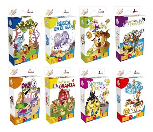 Juegos De Mesa Bontus Cartas Infantil Varios Modelos Lelab
