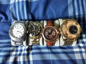 Coleção De Relógios. Fóssil, Guess, Tag Heuer E Diesel