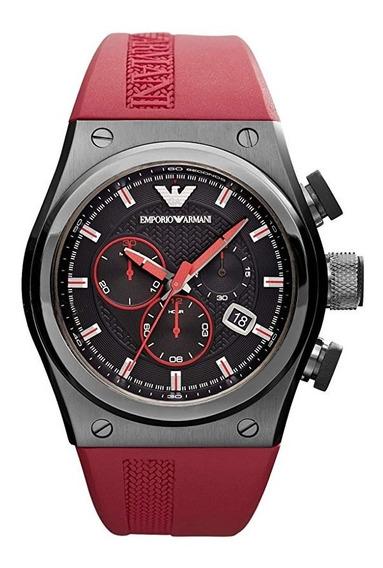 Relógio Emporio Armani Ar6105 Stylesport Red