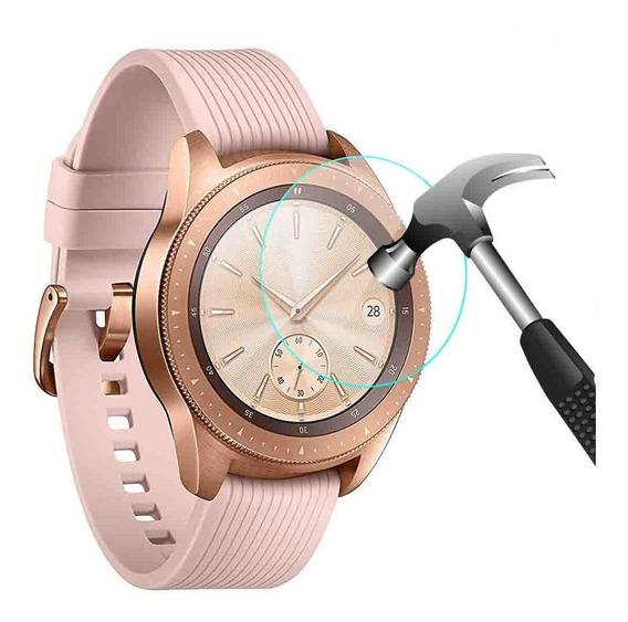 Pelicula Em Vidro 9h Para Galaxy Watch 42mm Ou Watch 46mm #
