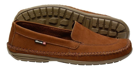 Sapato Masculino Mocassim Dockside Couro Galway 765-3
