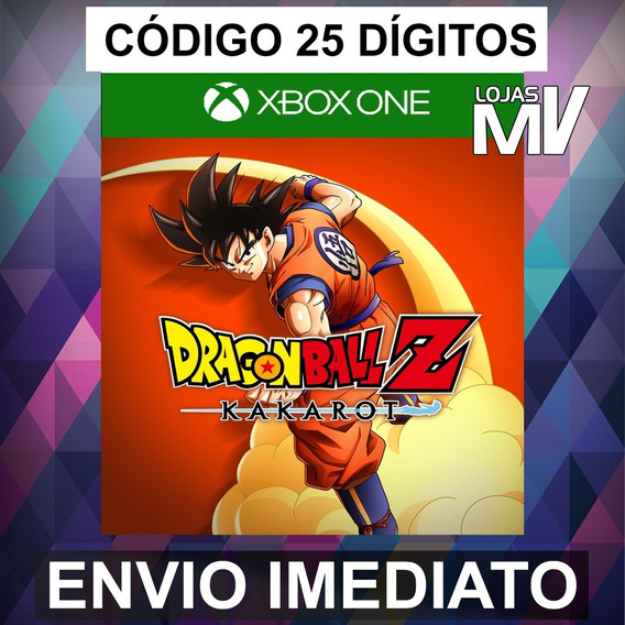 Dragon Ball Z Kakarot Xbox One Codigo De 25 Digitos
