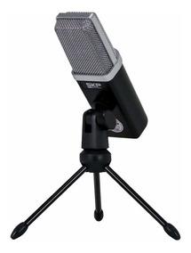 Microfone Profissional De Estúdio Usb Podcast 100 Skp Pro Nf