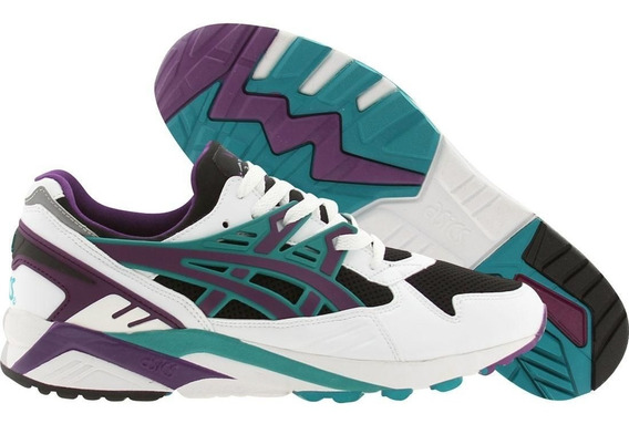 Tenis Asics Gel Kayano Trainer Black / Purple Tamanho 39 8us