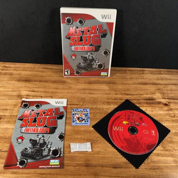 Metal Slug Anthology 100% Original Americano P/ Wii! Raro