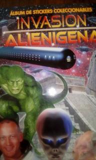 Álbum Invasión Alienígena + 100 Láminas.
