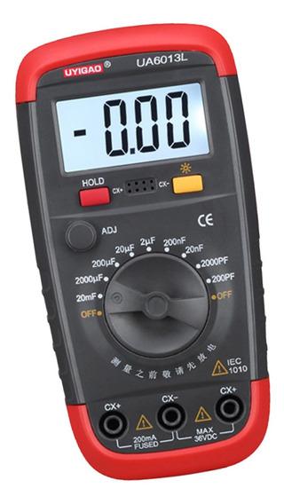 Digital Lcd Alimentado A Bateria 200pf A 20mf Capacitância M