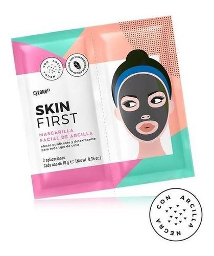 Mascarilla Facial De Arcilla Skin First - g a $790