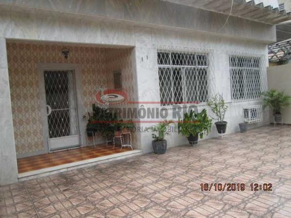 Espetacular Casa Linear, 3 Quartos(1suite) Piscina, 6 Vagas De Garagem Vista Alegre - Paca30444