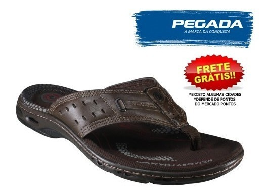 Sandália Pegada 530655-04 Cravo Tamanho Grande 46, 47, 48