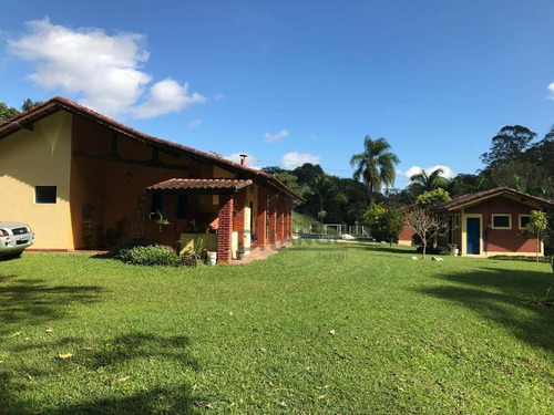 Sítio Com 4 Dormitórios À Venda, 53853 M² Por R$ 730.000,00 - Rio Acima - Atibaia/sp - Si0068