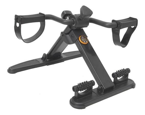 Mini Bicicleta Cicloergômetro Dobrável Com Massageador E Mon