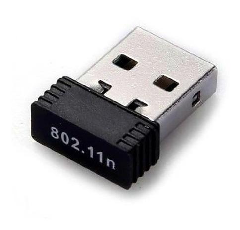 Mini Tarjeta Antena Wifi Adaptador Usb Pendrive 150 Mbps