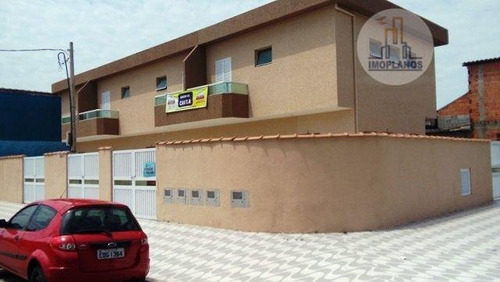 Sobrado Com 2 Dormitórios À Venda, 57 M² Por R$ 170.000 - Balneário Esmeralda - Praia Grande/sp - So0194
