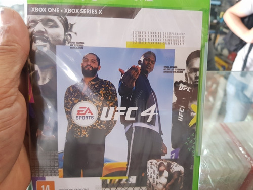 Ufc 4 Lacrado Original Xbox One Midia Física