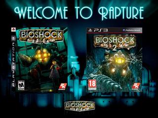 Bioshock 1 Y 2 Ps3