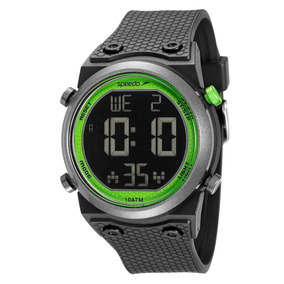 Relógio Digital Speedo Original Preto Seminovo Com Caixa