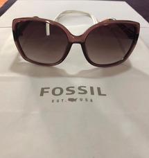 ce4afeff2 Oculos De Sol Feminino Marrom Fossil - Óculos no Mercado Livre Brasil
