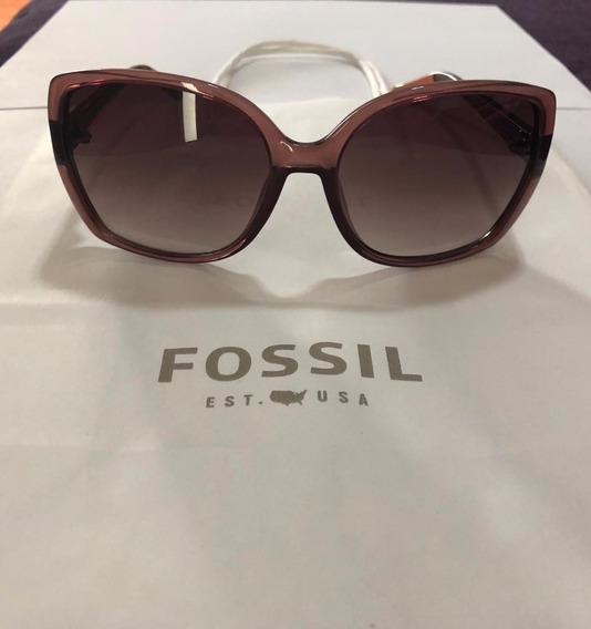 Óculos De Sol Feminino Fóssil - Original.