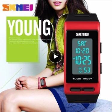 Relógio Skmei 1362 Analógico Digital Dual Time Watch Moda