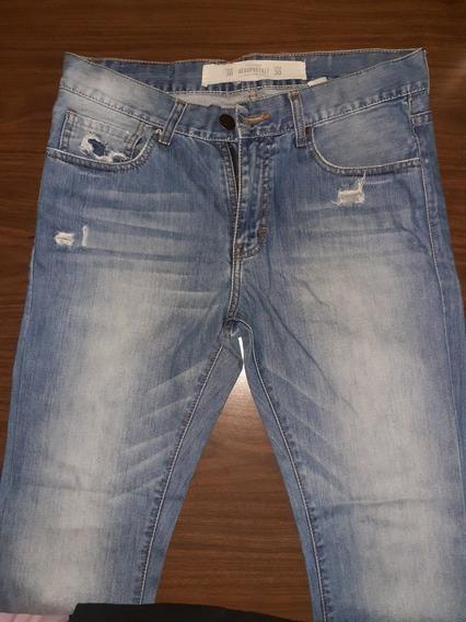 Pantalon Jean Poco Usado