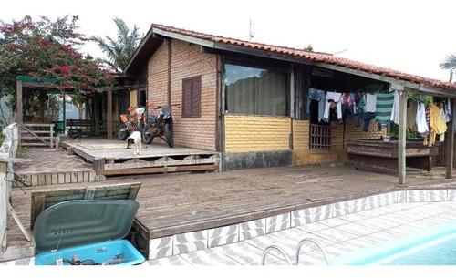 Chácara Com 3 Dormitórios À Venda, 5000 M² Por R$ 490.000,00 - Rio Grande - Palhoça/sc - Ch0066