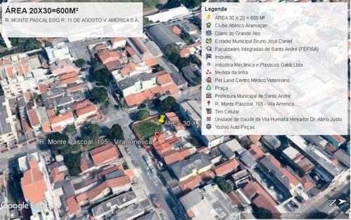 Oportunidade Para Construtores E Investidores!!! Excelente Terreno 600 M² Totalmente Plano Com Projeto Aprovado!!! - Te0005
