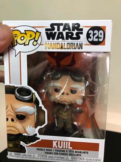 Funko Pop Star Wars Mandalorian #329 Kuill En Stock