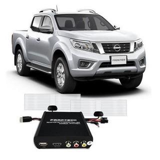 Desbloqueio De Tela + Tv Hd Nissan Frontier 2017/2018