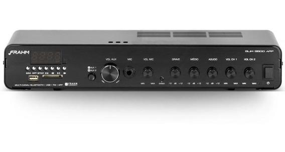Amplificador Frahm Slim 3500 App 240w Bluetooth Bivolt