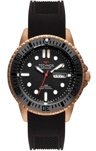 Relógio Masculino Technos Automático 8205oh/8p Bronze 200m